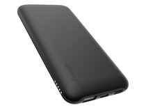Networx Wireless Charging Powerbank, 10.000 mAh, USB-C/Lighting, schwarz