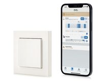 Eve Light Switch (2021), smarter Lichtschalter, HomeKit, Thread, weiß