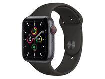 Apple Watch SE, GPS & Cellular, 44 mm, Aluminium, Sportarmband