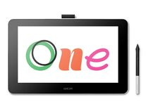 "Wacom One 13"" Kreativ-Stift-Display, Grafiktablett, Full HD, schwarz"
