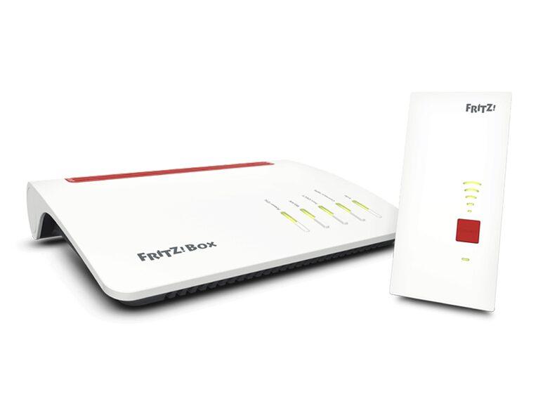 Artikel klicken und genauer betrachten! - Das FRITZ! Mesh Set beinhaltet eine FRITZ!Box 7590 und einen FRITZ!WLAN Repeater 2400, die für Sie ein perfekt funktionsfähiges Heimnetz bereitstellen. Das Set von AVM optimiert die Reichweitenstärke Ihres WLAN-Netzes und kann durch weitere Mesh-fähige Produkte erweitert werden. | im Online Shop kaufen
