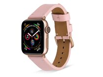 Artwizz WatchBand Leather, Armband für Apple Watch 38/40 mm, Nappaleder, rose