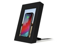 Twelve South PowerPic, Wireless-Charger, für iPhone, schwarz