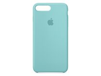 Apple iPhone 7 Plus Silikon Case, meerblau