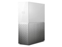 WD My Cloud Home, 2 TB, Ethernet/USB 3.0, weiß/silber