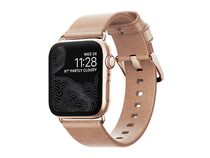 Nomad Slim Strap Armband für Apple Watch 38/40 mm, Leder