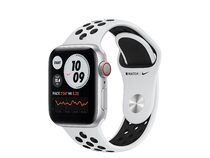 Apple Watch Nike Series 6, GPS & Cellular, 40 mm, Aluminium Sportarmband