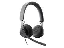 Logitech Zone Wired, UC Headset, USB-C, graphite
