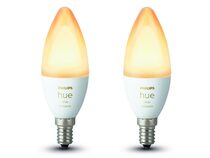 Philips Hue White Ambiance, 2x E14 Glühbirne, 5,2 Watt, Bluetooth