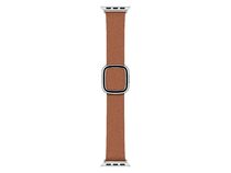 Apple Watch Lederarmband, 40 mm medium, braun