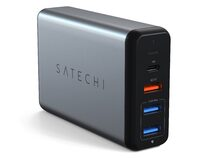 Satechi Travel Charger, 75W-Reiseladegerät, space grau