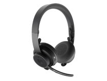 Logitech Zone Wireless, UC-Headset, bis zu 15h Akku, Bluetooth 5.0, graphite