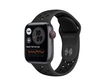 Apple Watch Nike SE, GPS & Cellular, 40 mm, Aluminium, Sportarmband