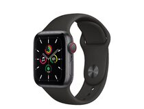 Apple Watch SE, GPS & Cellular, 40 mm, Aluminium, Sportarmband