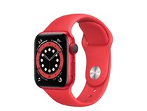 Apple Watch Series 6, GPS & Cellular, 40 mm, Aluminum, Sportarmband