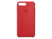 Apple Silikon Case, für iPhone 7/8 Plus, (PRODUCT)RED rot