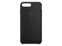 Apple Silikon Case, für iPhone 7/8 Plus, schwarz