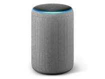 Amazon Echo Plus (2. Gen), Lautsprecher mit Smart-Home-Hub, grau