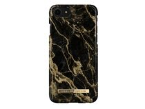 iDeal of Sweden Golden Smoke Marble, Case für iPhone 7/8/SE 2020, schwarz/gold