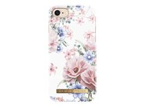 iDeal of Sweden Floral Romance, Case für iPhone 7/8/SE 2020, weiß/rosa