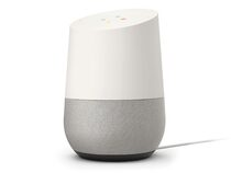 Google Home, Hands-free Smart Speaker, weiß/schiefer