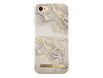 iDeal of Sweden Sparkle Greige Marble, Case für iPhone 7/8/SE 2020, gold/beige