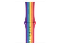 Apple Sportarmband, Pride Edition, für Apple Watch 44 mm, bunt