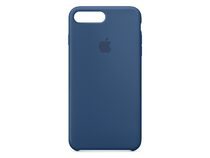 Apple iPhone 7 Plus Silikon Case, ozeanblau
