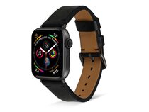 Artwizz WatchBand Leather, Armband f. Apple Watch 38/40mm, Nappaleder, schwarz