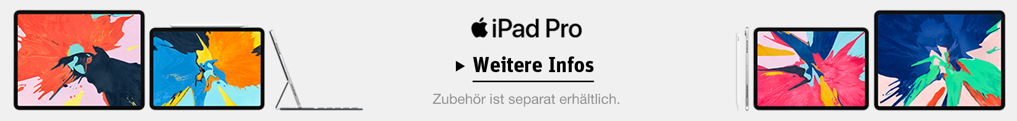 Apple iPad Pro Produktseite
