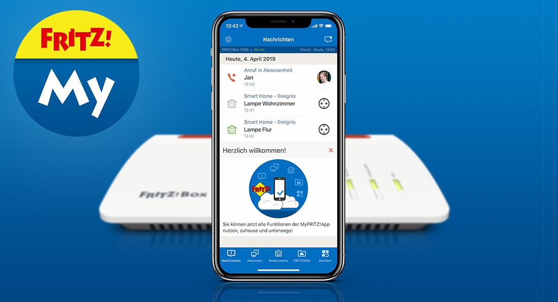 Lifestyle AVM MyFritz App