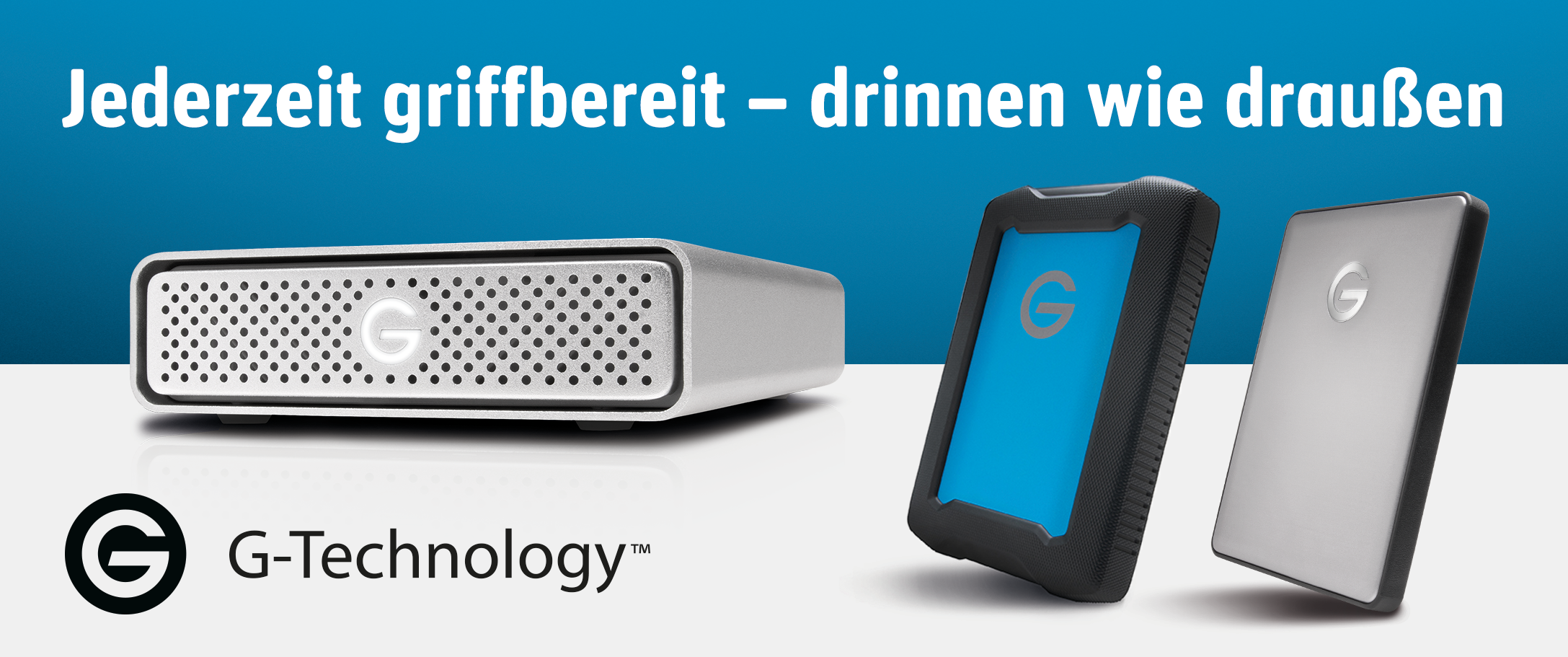 G-Technology Produktseite