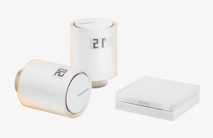 Netatmo Smarte Heizkörperthermostate Starterpaket